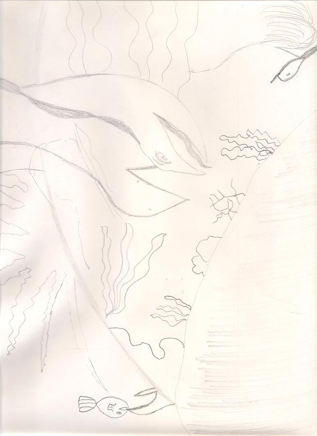 Under The Sea Drawing