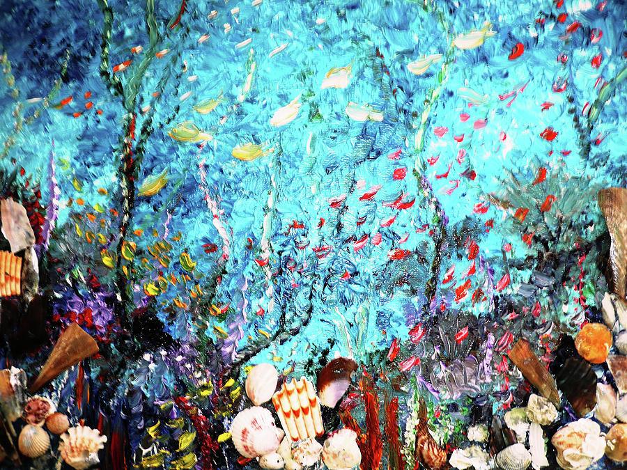 ... | Art > Paintings > Underwater Painting Undersea Painting Paintings