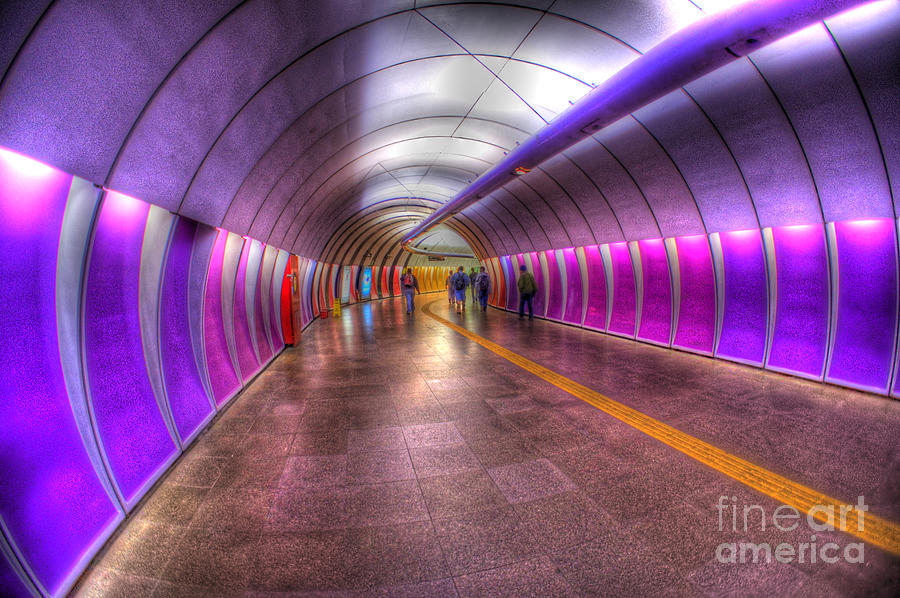Underground Colors Photograph