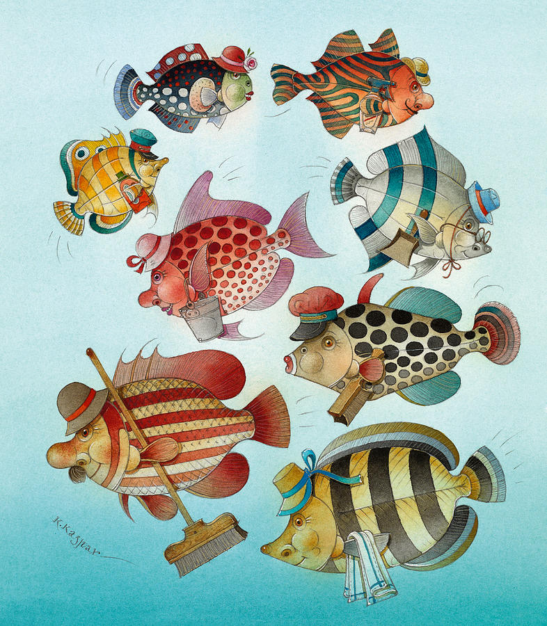 Underwater Story 01 Painting