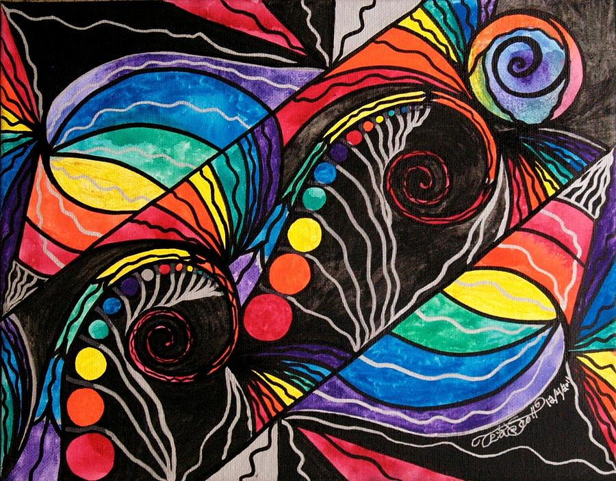 Unfold Painting - Unfold by Teal Eye  Print Store