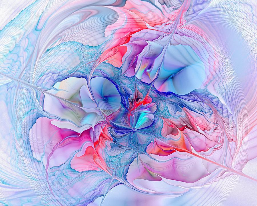Abstract Digital Art - Unicorn Dream by Anastasiya Malakhova