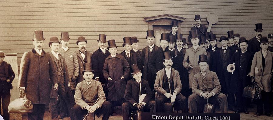 Union Depot 1881 Photograph