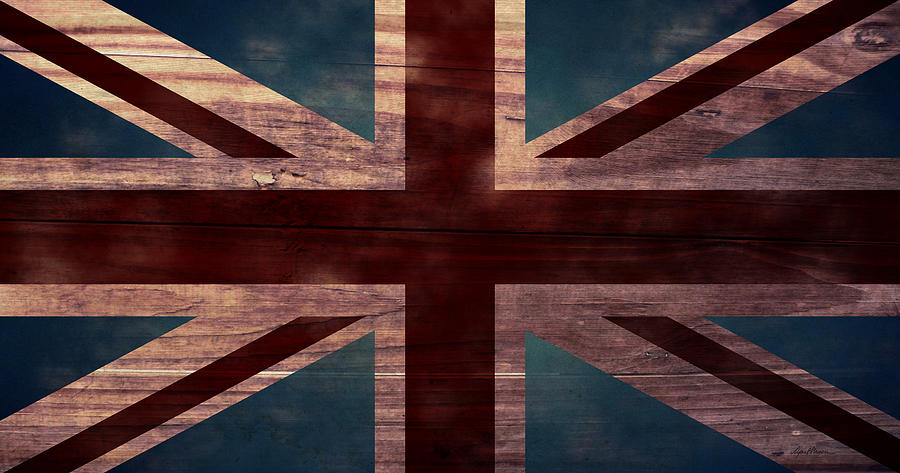 Union Jack Digital Art - Union Jack I by April Moen