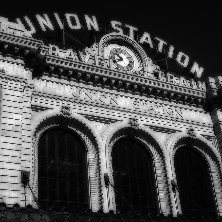 Denver Union Station: Union Station Denver Colorado Photograph By Ron White