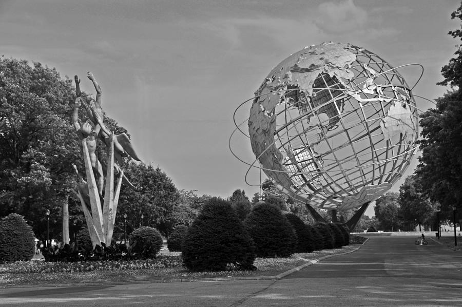 World's Fair Photograph - Unisphere In Corona Park by Mike Martin