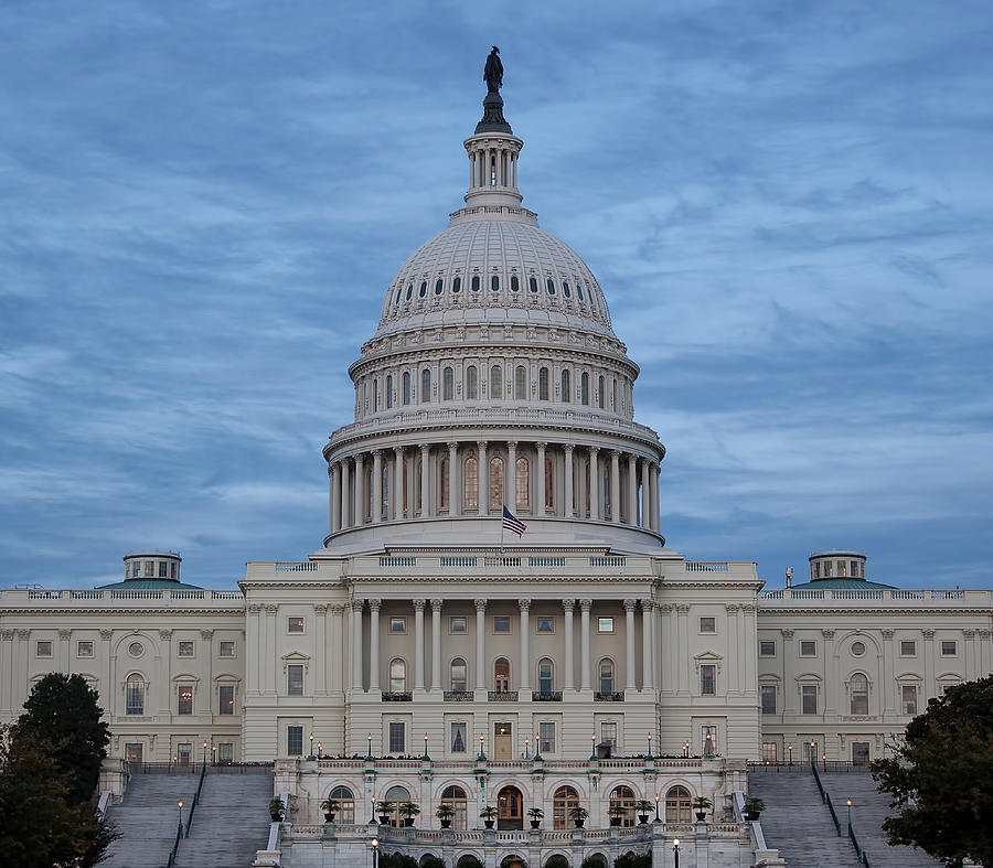 United States Capitol Building Photograph