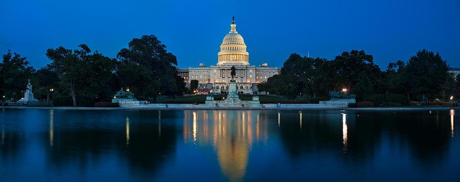 United Photograph - United States Capitol by Steve Gadomski
