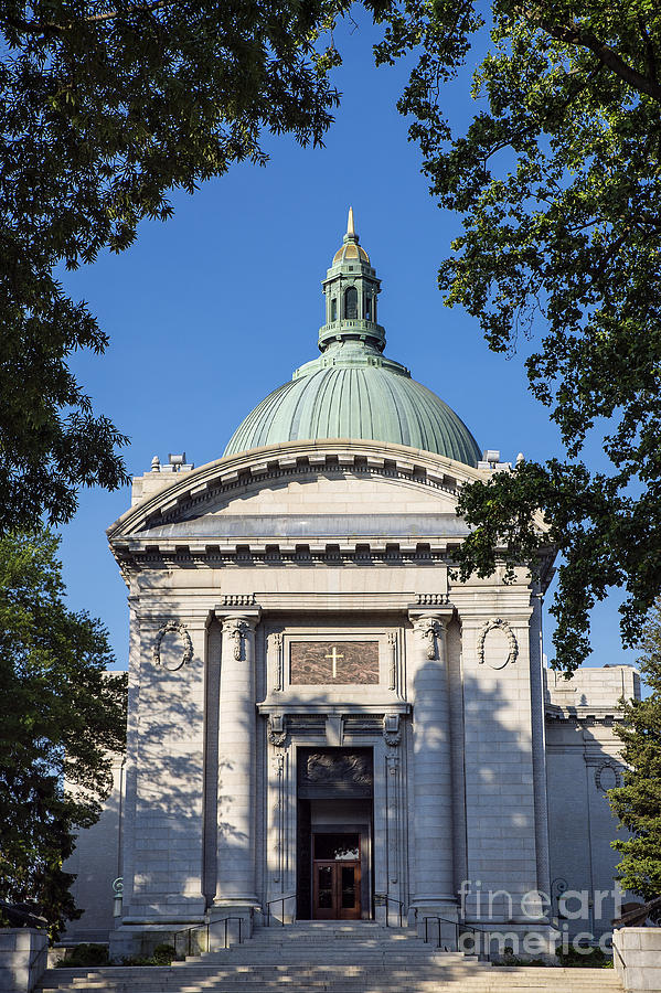 America Photograph - United States Naval Academy Chapel by John Greim