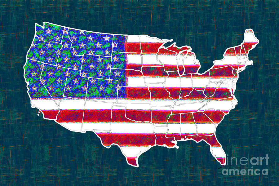 United States Of America - 20130122 Photograph  - United States Of America - 20130122 Fine Art Print