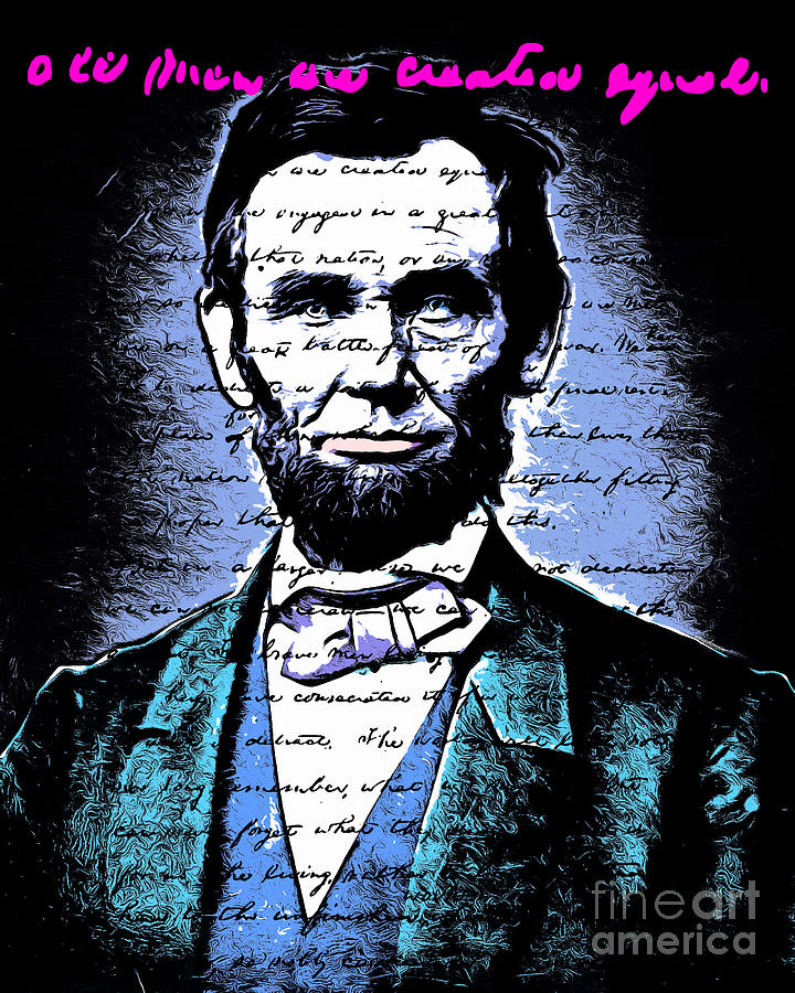 Lincoln (AL) United States  city images : United States President Abraham Lincoln Gettysburg Address All Men Are ...
