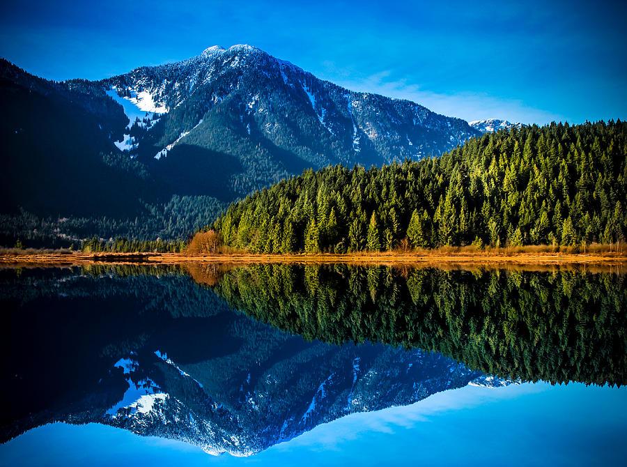 Mountain Photograph - United We Stand  by Eva Kondzialkiewicz