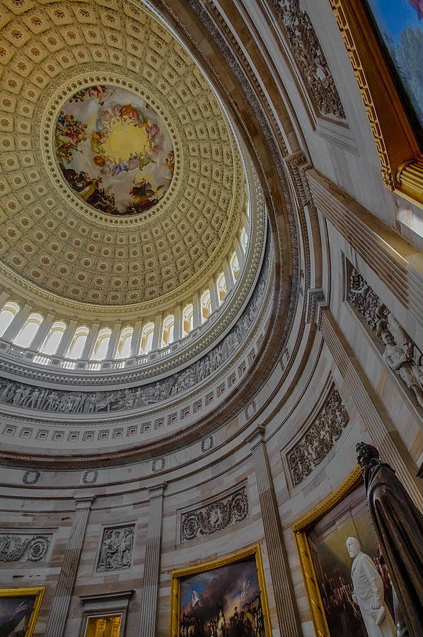 Unites States Capitol Rotunda Photograph