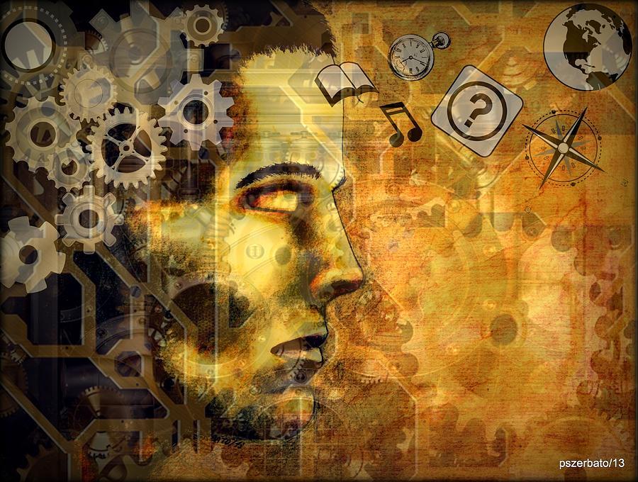 Universal Mechanics Digital Art - Universal Mechanics by Paulo Zerbato