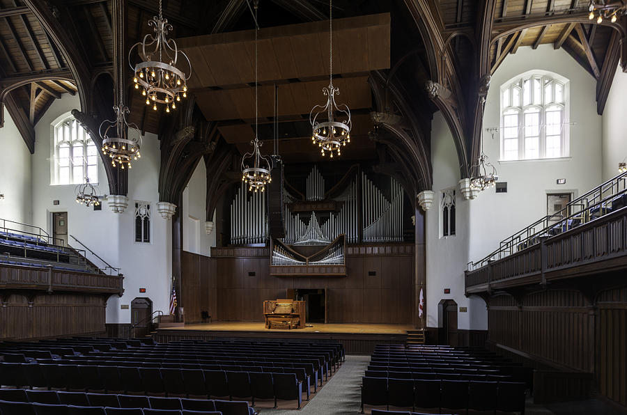University Auditorium And The Anderson Memorial Organ Photograph  - University Auditorium And The Anderson Memorial Organ Fine Art Print