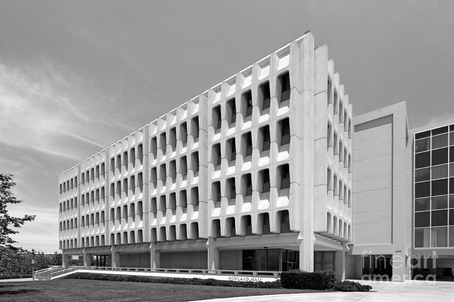 University Of California Irvine Rowland Hall Photograph