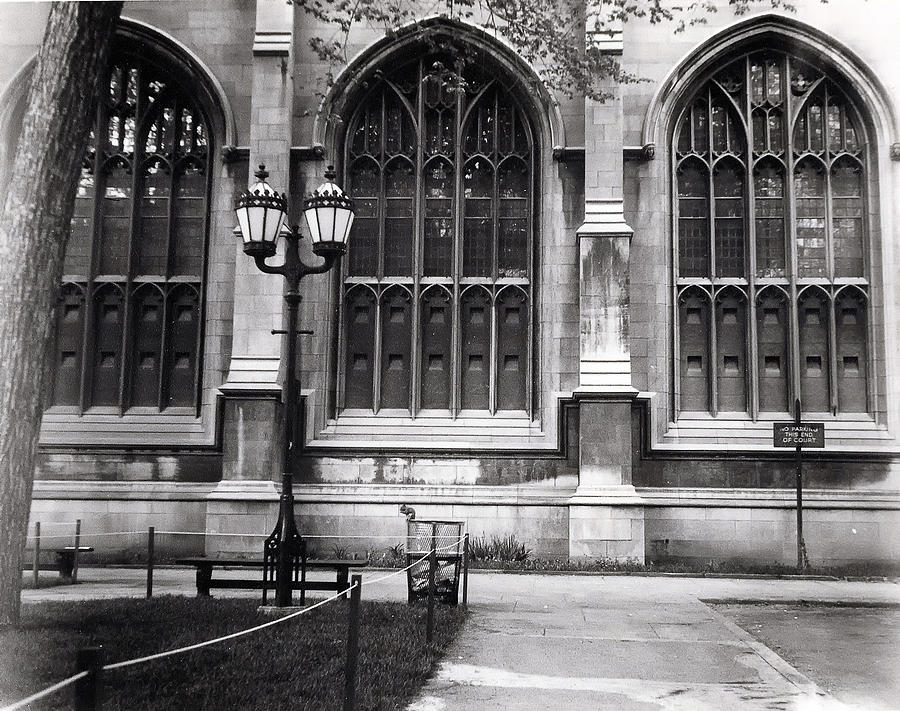 University Of Chicago 1970s Photograph  - University Of Chicago 1970s Fine Art Print