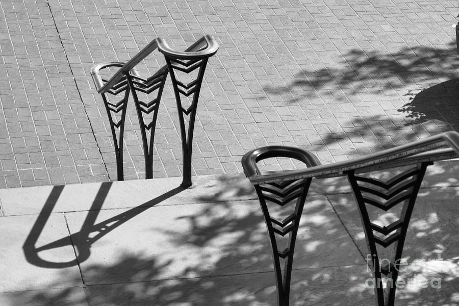 University Of Cincinnati Railings Photograph