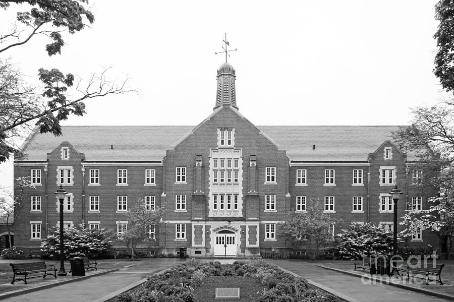 University Of Connecticut Whitney Hall Photograph  - University Of Connecticut Whitney Hall Fine Art Print