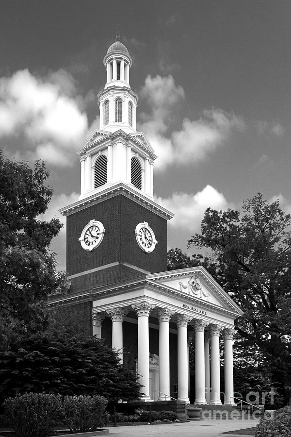University Of Kentucky Memorial Hall Photograph