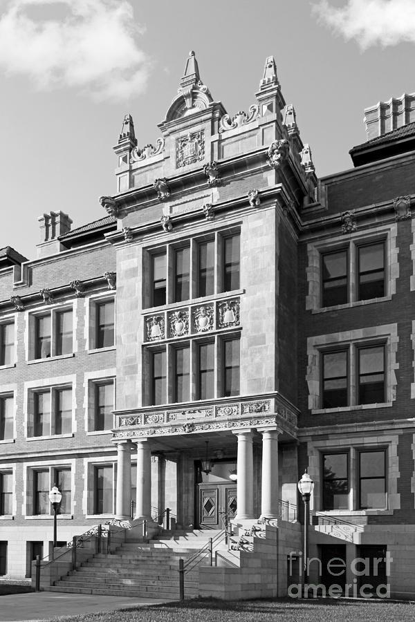 University Of Minnesota Folwell Hall Photograph