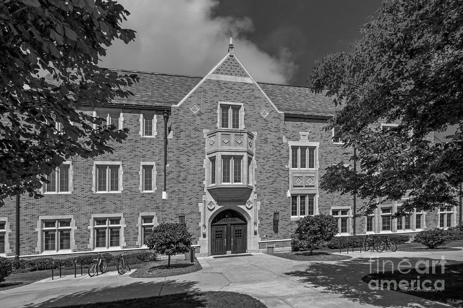 University Of Notre Dame Coleman- Morse Center Photograph