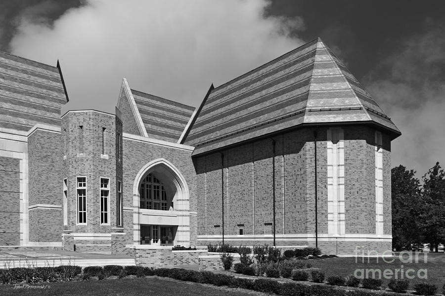 University Of Notre Dame De Bartolo Performing Arts Center Photograph  - University Of Notre Dame De Bartolo Performing Arts Center Fine Art Print