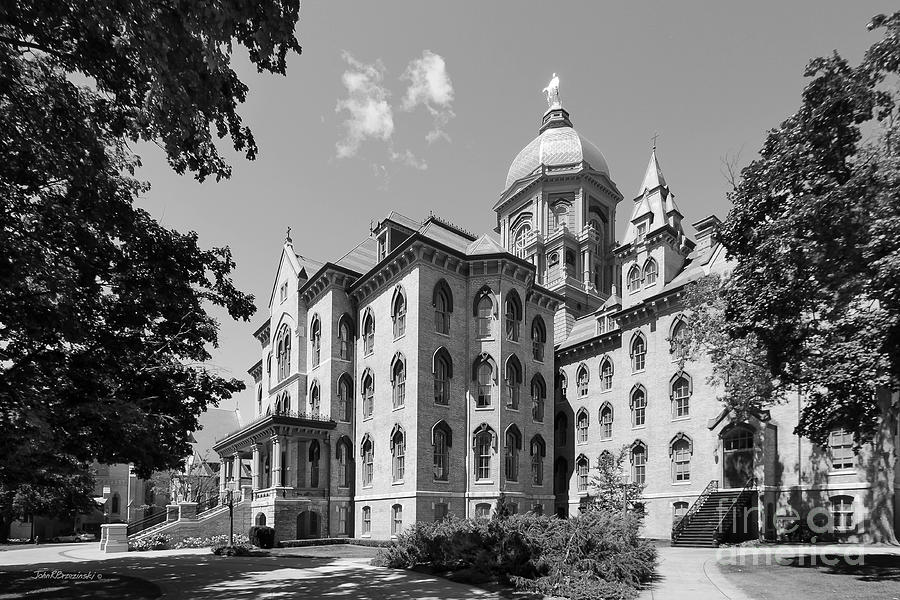 University Of Notre Dame Main Building Photograph