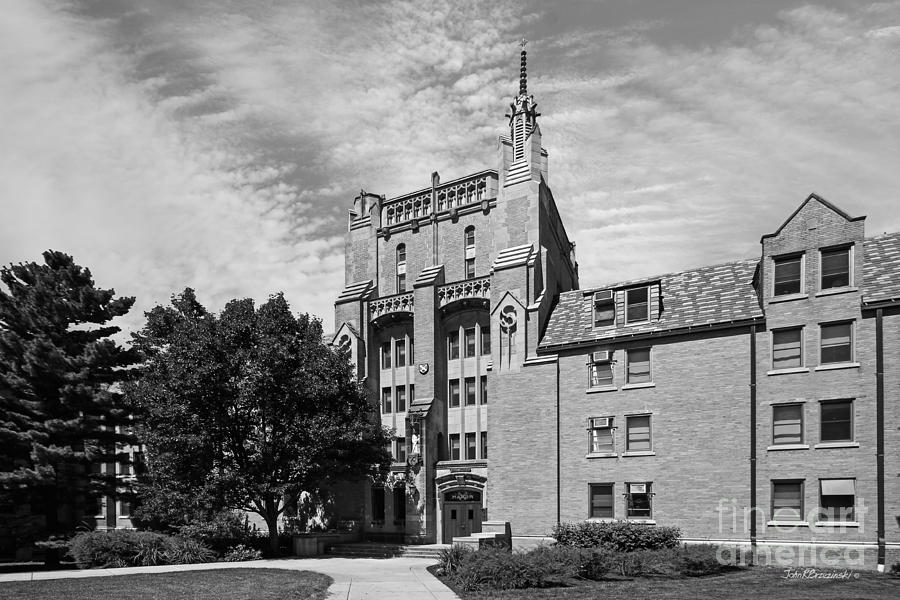 University Of Notre Dame Morrissey Hall Photograph  - University Of Notre Dame Morrissey Hall Fine Art Print