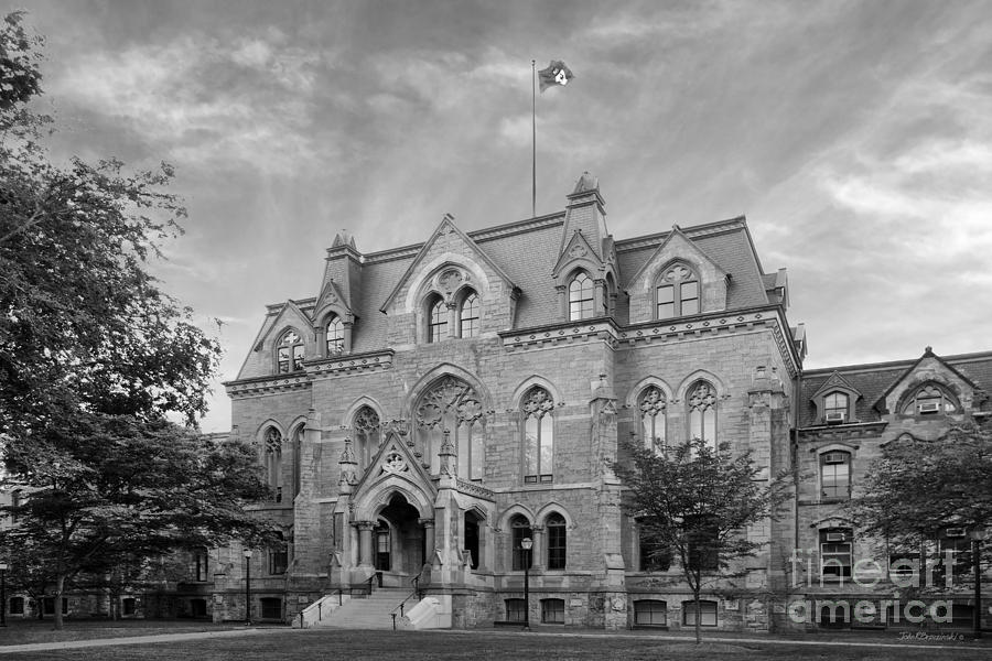 University Of Pennsylvania College Hall Photograph  - University Of Pennsylvania College Hall Fine Art Print