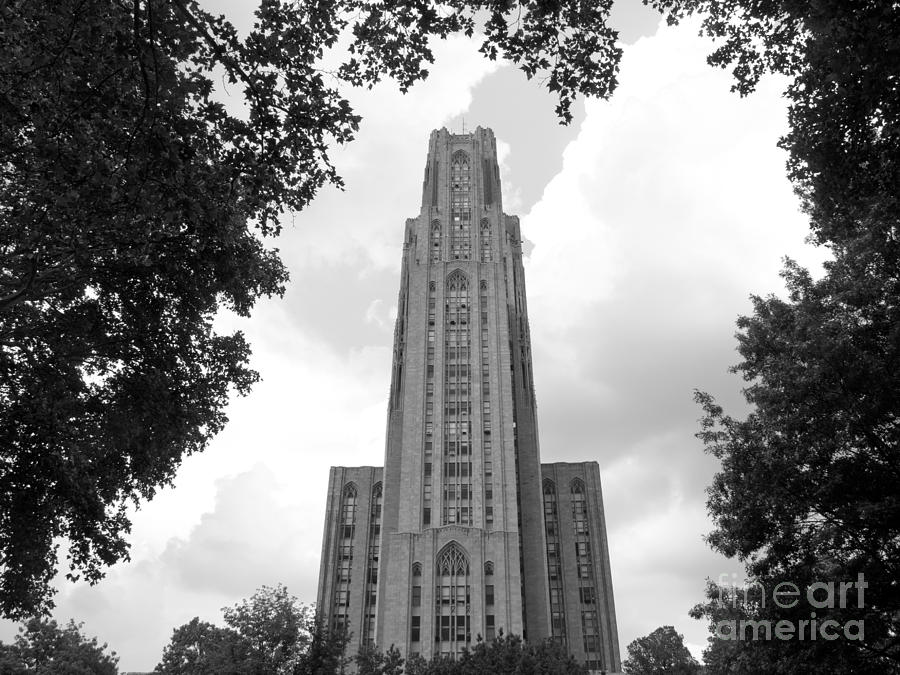 University Of Pittsburgh Cathedral Of Learning Photograph  - University Of Pittsburgh Cathedral Of Learning Fine Art Print