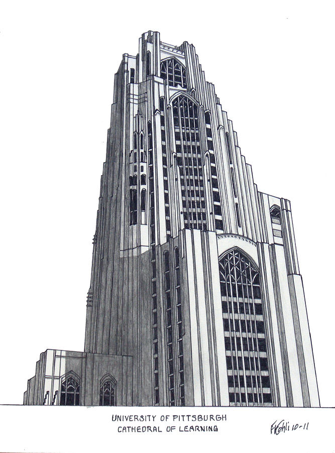 University Of Pittsburgh Drawing