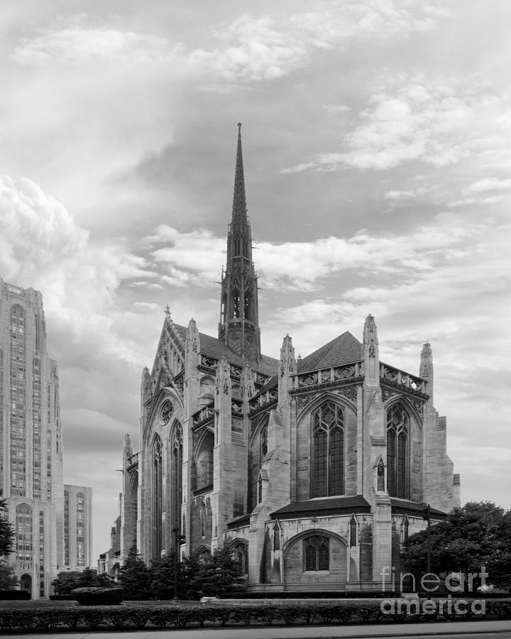 University Of Pittsburgh Heinz Memorial Chapel Photograph