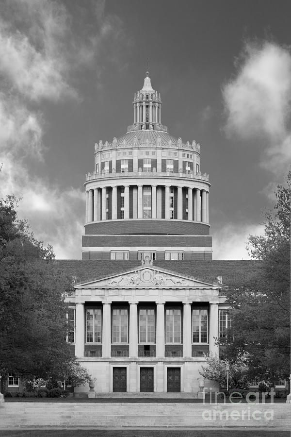 University Of Rochester Rush Rhees Library Photograph