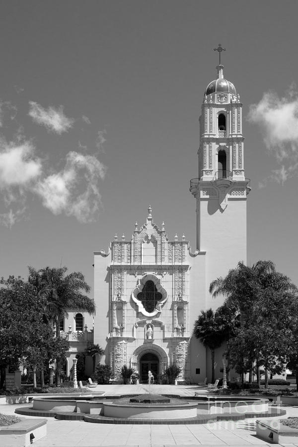 University Of San Diego The Church Of The Immaculata Photograph  - University Of San Diego The Church Of The Immaculata Fine Art Print