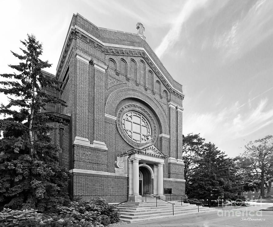 University Of St. Thomas Chapel Of St. Thomas Aquinas Photograph  - University Of St. Thomas Chapel Of St. Thomas Aquinas Fine Art Print