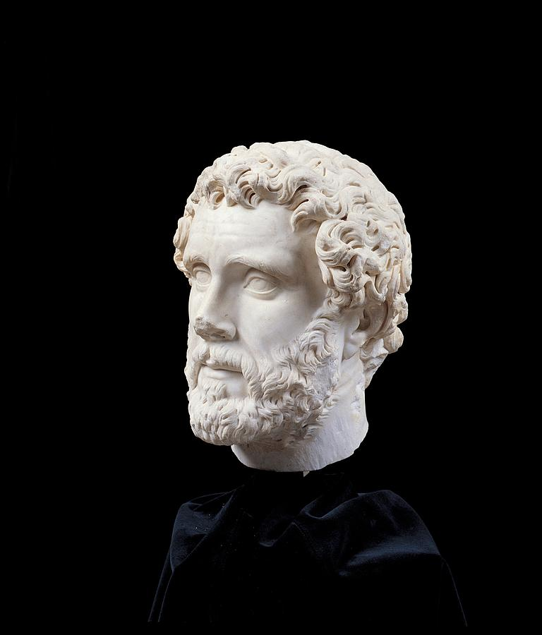 Unknown Artist, Portrait Of Antoninus Photograph