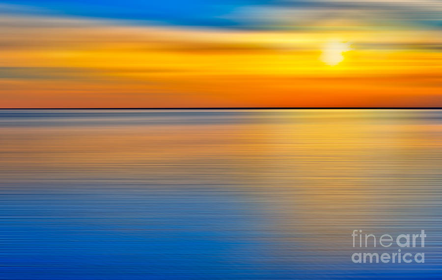Unseen Sunset - A Tranquil Moments Landscape Photograph  - Unseen Sunset - A Tranquil Moments Landscape Fine Art Print