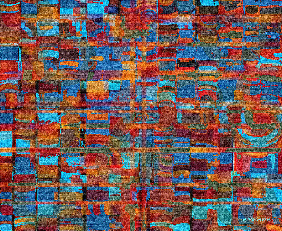 Untitled 3 Painting  - Untitled 3 Fine Art Print