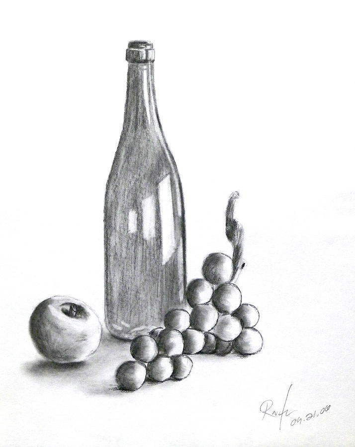 Untitled Still Life Drawing