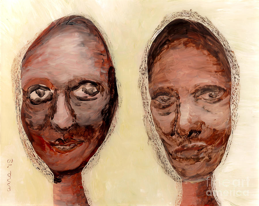 Untitled Two Painting  - Untitled Two Fine Art Print