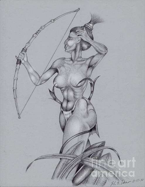 Drawing - Untitled05 by   Drew