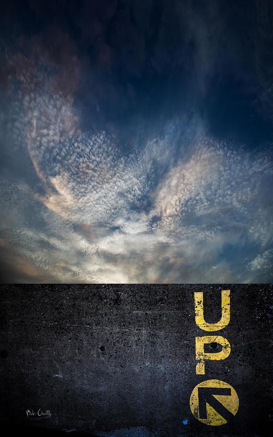 Up Photograph - Up At Sunrise by Bob Orsillo