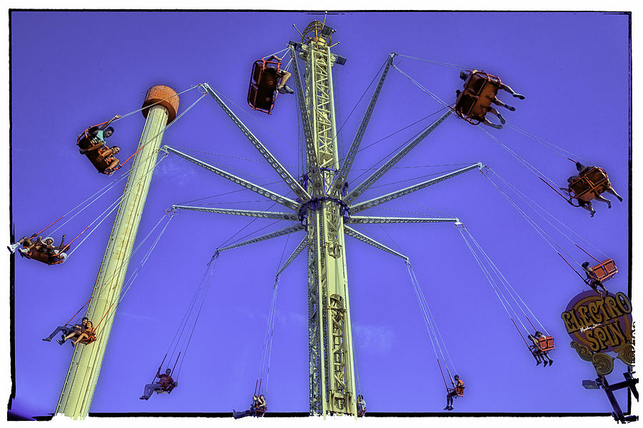 Up Up And Away 2013 - Coney Island - Brooklyn - New York Photograph  - Up Up And Away 2013 - Coney Island - Brooklyn - New York Fine Art Print
