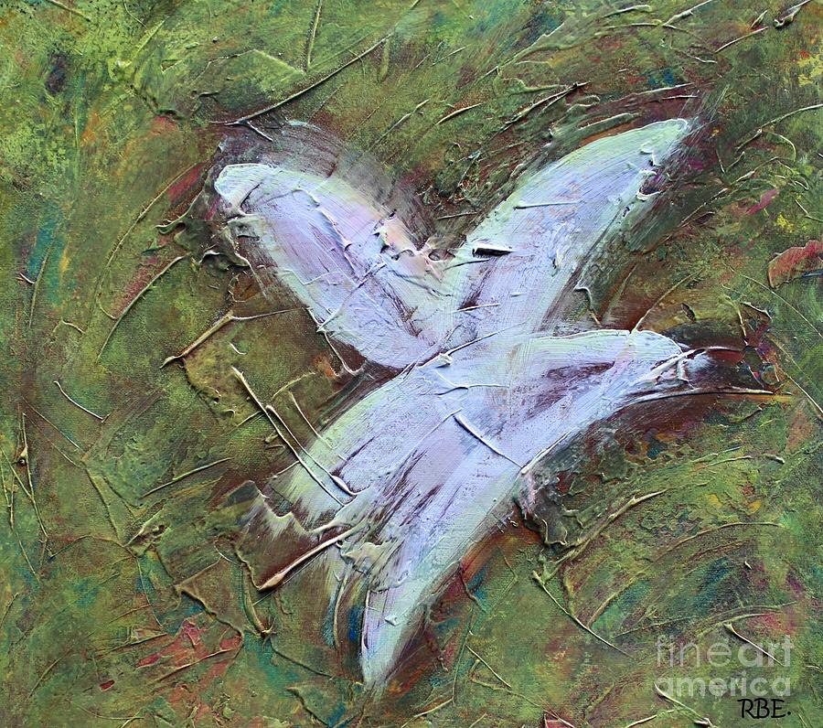 Upon Angels Wings Of Change Painting