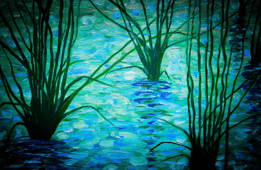 Upon The Waters Painting