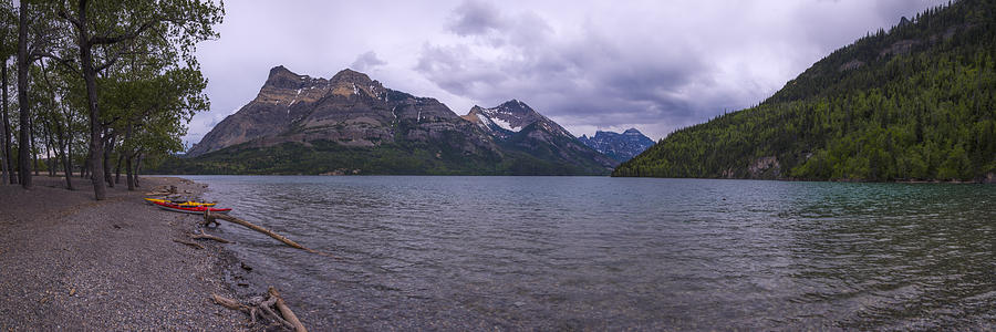 Upper Waterton Lake Photograph