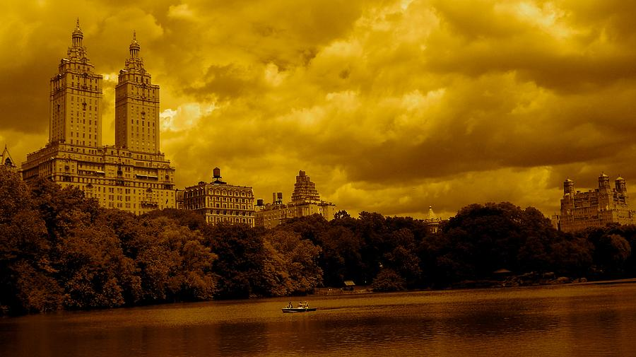 Upper West Side And Central Park Photograph