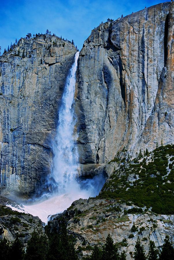 Upper Yosemite Falls Photograph