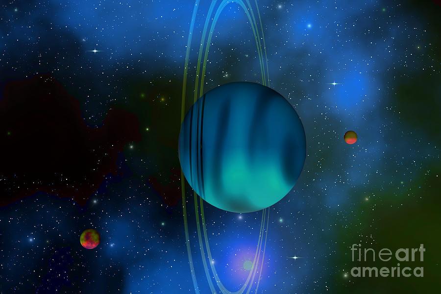 Uranus Painting